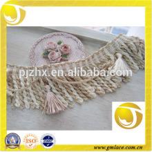 elaborate handmade brown garment trim lace trimming