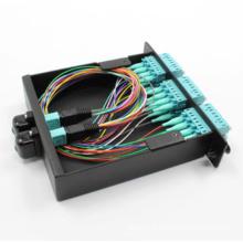 MPO Cassette avec patchocord et adaptateurs MPO-LC