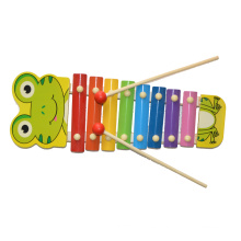 Juguete de madera de la música Xylophone Frog (81941-1)