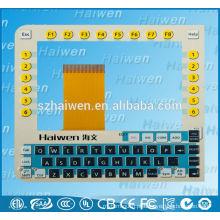 Emboss lcd display PC interruptor de teclado de membrana