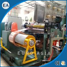 Máquina bobinadora de láminas de transformador de alto voltaje