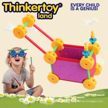 Genius Детские игрушки Горячие Продажа Образование Игрушка Пластиковые строительные блоки
