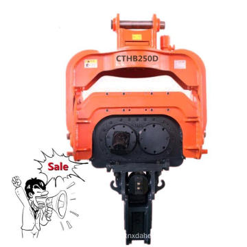 Excavator Mounted Pile Driver Sheet Hydraulic Static Pile Driver