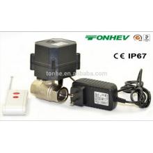 Pohs / NSF Controlador sem fio em miniatura e válvula de água com sistema de corte automático de água