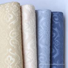 Tissu en velours européen à la main en gaufrage artisanal