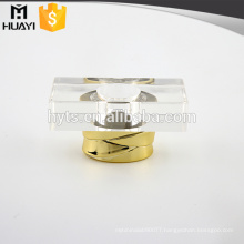 clear square shape plastic cap perfume for perfume bottle