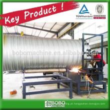 Máquina de tubos de alcantarola galvanizada