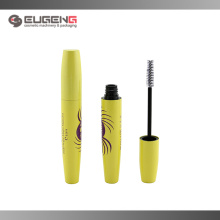 Aluminum glitter yellow mascara bottle wholesale