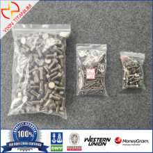 Ti Gr7 ISO4017 Hexagon Set Screws