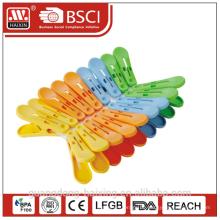 Kunststoff-Clips für Kleidung / kleine Kleidung Heringe / Kunststoff Kleidung clips (18 Stk)