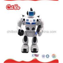 Schwarzes weißes Roboter-Förderung-Geschenk-Plastikspielzeug (CB-PM021-S)