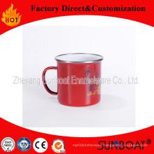 Enamel Tea Mug with Handle