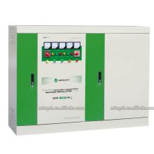 Regulador / estabilizador de voltaje de la CA de SBW-400k de la serie de tres fases de encargo compensado