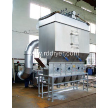 Continuous Horizontal Fluid Bed Drying Machine