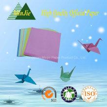 Art Folding Handmake Folded Square Shape Colour Paper Origami