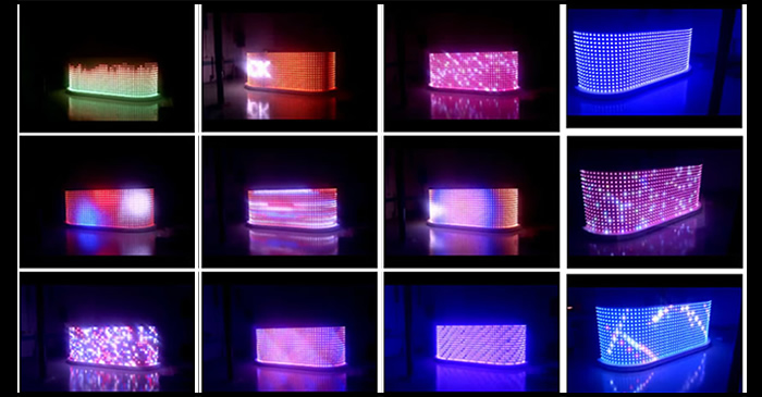 led video wall light