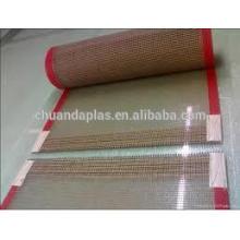 China low price ptfe coated fiberglass mesh conveyor belt                                                                                                         Supplier's Choice
