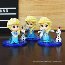 Venta al por mayor Frozen Plastic Figure Decoration