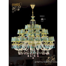 Modern Fashion Ballroom Large Crystal Chandelier Light (MD0905-30)