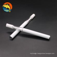 High quality full ceramic 510 cartridge vape pen empty 1ml 0.5ml rechargeable cbd oil vape pen