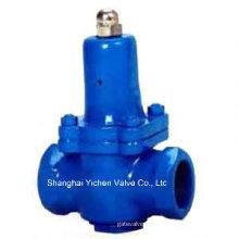 Válvula redutora de pressão de água de rosca de ferro fundido