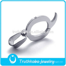 High Quality Stainless Steel Letter Q Pendant Necklaces High Polish Fashion Letter Pendant Charm