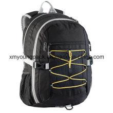 Black Lightweight Strong Versatile Backpack Bag for School
