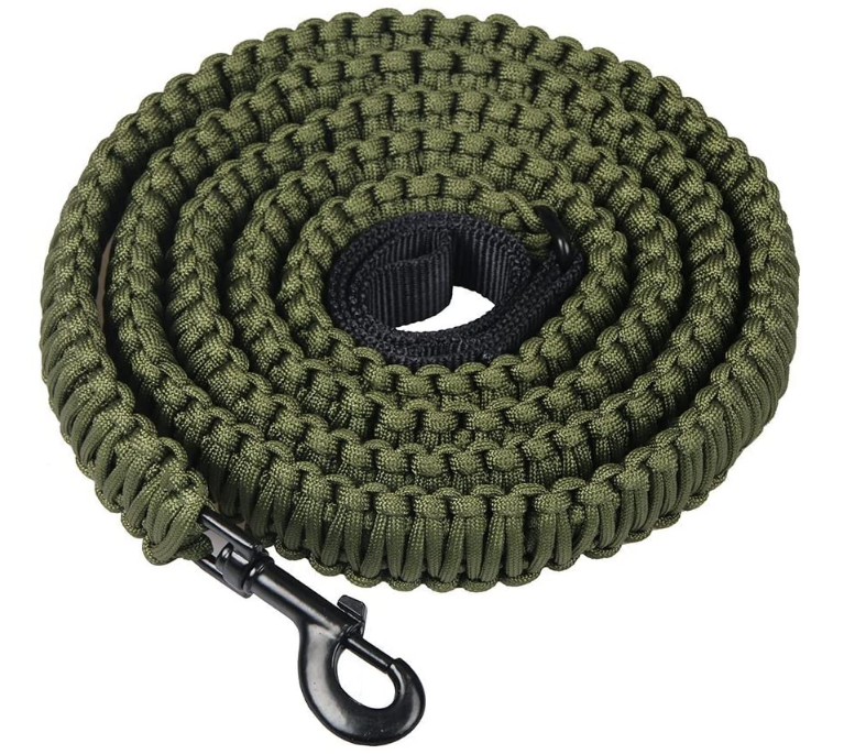 Paracord Long Dog führen 4ft