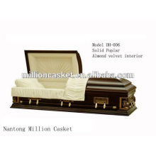 Solid poplar casket private plans fashion ali china