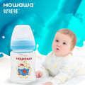 8oz Baby Glass Wide Neck Nursing Susu Botol