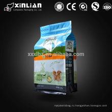 Упаковка для кошачьих туалетов с использованием мешков с квадратным дном, мешка для упаковки кормов для животных