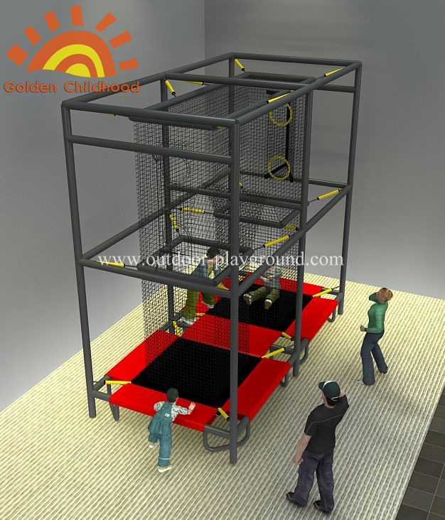 Indoor Aeroball Trampoline Playground