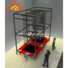 Aeroball Trampoline Park Structure Playground