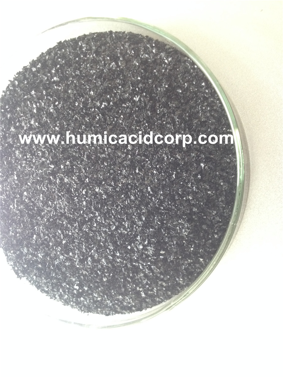 100 Soluble Potassium Humate Flake From Leoardite
