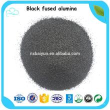 Sprengen von schwarzem geschmolzenem Aluminiumoxid Marktpreis von Aluminiumoxid für die Entfernung von Metall-Russe