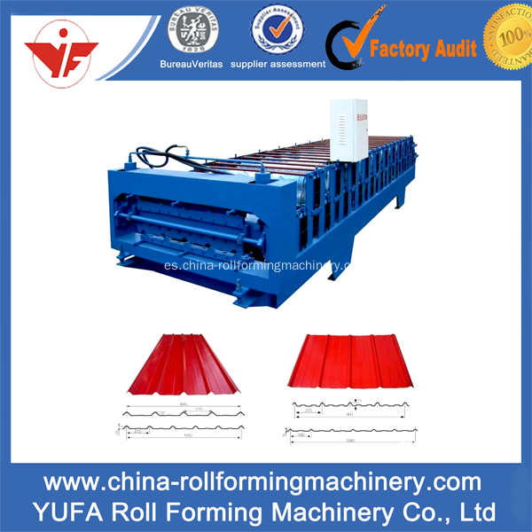 Good price metal roofing sheet roll forming machine