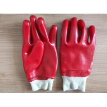 Перчатка для работы с ПВХ с покрытием из хлопка (P9002)