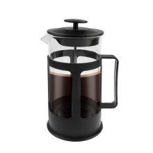 650 ml French-Press-Kaffeemaschine mit Kunststoffboden aus Glas