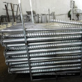 Hot Dip Galvanized Earth Screw Anchors Solar Ground Mounting Systems