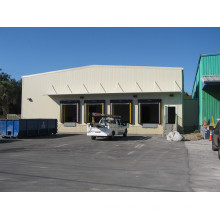 Entrepôt de construction de structures métalliques