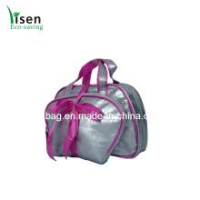 Conjunto de alta qualidade cor prata saco cosmético (YSCOS00-8315)