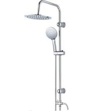 Ensemble de colonne de douche 2 fonctions avec barre coulissante
