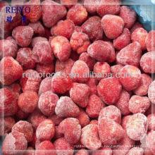 Erdbeere in Sirup eingefroren