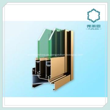 Marcos de ventana de extrusión de aluminio anodizado anodizado aluminio ventana perfil