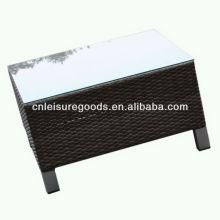 2013 новый дизайн плетеная качества ротанга журнальный столик