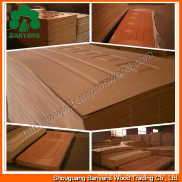 Natur-Furnier-Blatt HDF Doorskin