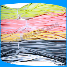 13mm width colorful reflective piping for backpacks