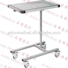 Stainless steel Medical mayo instrument table