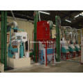 Mini Wheat Flour Machine 10 Ton Per 24 Hours