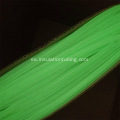Cubierta de color verde Luminous Fly Tying Tubes